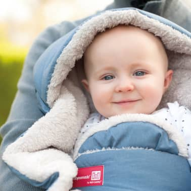 RED CASTLE Couverture pour bébé Babynomade Tendresse 0-6 mois Bleu[2/4]