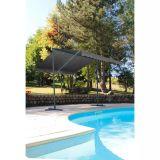 Store double pente Provence - 350 x 300 cm - Gris anthracite
