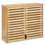 Armoire de toilette bambou Sicela - 58 x H. 51 cm - Marron