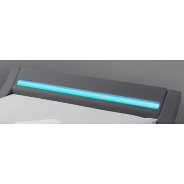 Hypnia Cama Design LED blanca-140 x 190 cm