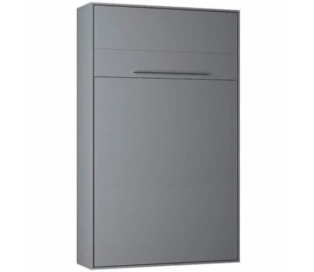 Armoire lit escamotable KOMPACT Ouverture assistée, coloris gris mat[2/5]
