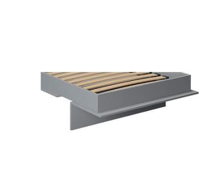 Armoire lit escamotable KOMPACT Ouverture assistée, coloris gris mat[5/5]