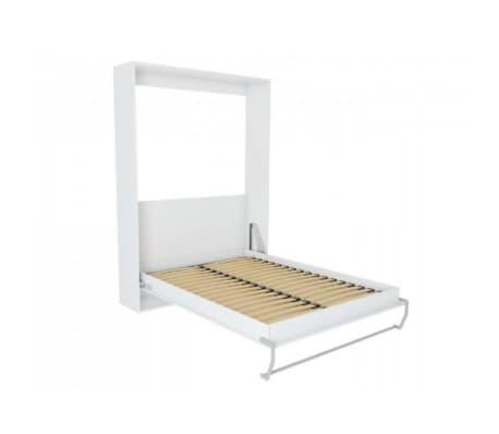 Composition armoire lit escamotable SMART-V2 blanc mat Couchage 140 x[5/7]