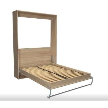 Composition armoire lit escamotable SMART-V2 chêne naturel Couchage 1[5/7]
