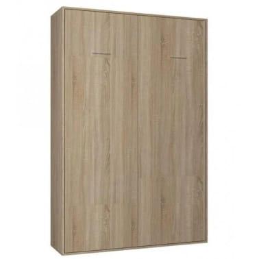 Composition armoire lit escamotable SMART-V2 chêne naturel Couchage 1[6/7]