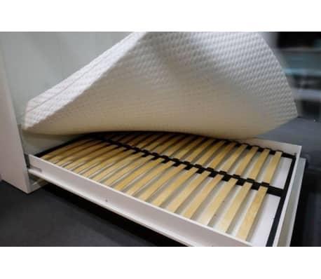 Composition armoire lit escamotable SMART-V2 Taupe mat Couchage 160 x[5/7]