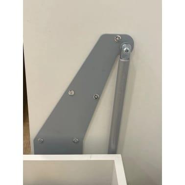 Composition armoire lit escamotable SMART-V2 Taupe mat Couchage 160 x[6/7]