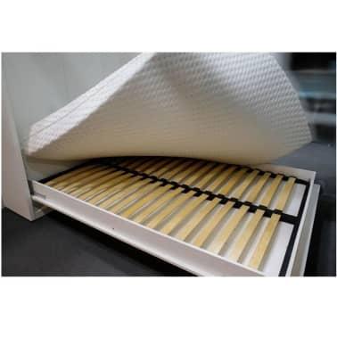 Armoire lit escamotable SMART-V2 blanc mat couchage 140*200 cm.[6/7]
