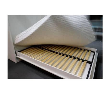 Armoire lit escamotable SMART-V2 taupe mat 160*200 cm.[5/7]