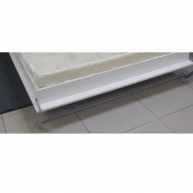 Armoire lit escamotable SMART-V2 taupe mat 160*200 cm.[6/7]
