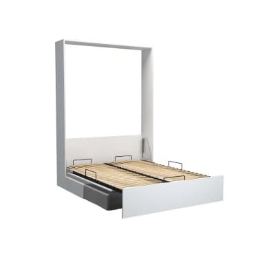 Armoire lit escamotable DYNAMO SOFA canapé intégré blanc mat et micro[3/7]