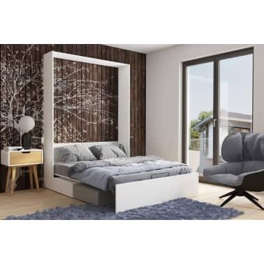 Armoire lit escamotable DYNAMO SOFA canapé intégré blanc mat et micro[6/7]
