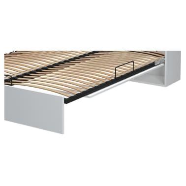 Armoire lit escamotable DYNAMO SOFA canapé intégré blanc mat et micro[7/7]