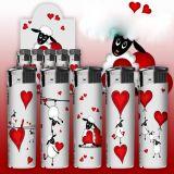 """Lot de 12 - Briquet électronique rechargeable """"Sheep Lovers"""""""