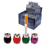 """Lot de 6 - Étouffoir de cigarette métal """"Snuff"""" Ø 2cm coloris assortis"""