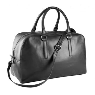 9ad5a5770f Acheter Sac voyage imitation cuir - KI0919- noir pas cher | vidaXL.fr