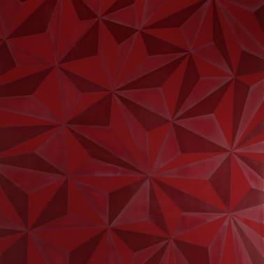 Vaisselier avec éclairage LED design rouge laqué NINO 3[3/5]