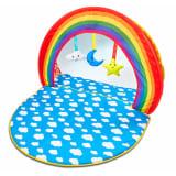 Tapis d'éveil et piscine à balles 2 en 1 pour bébé