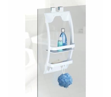 Etagère de douche universelle Urtop - L. 26 x l. 54,5 cm - Blanc[3/4]
