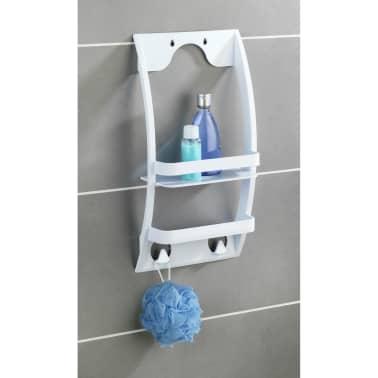 Etagère de douche universelle Urtop - L. 26 x l. 54,5 cm - Blanc[4/4]