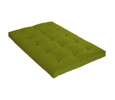 Matelas futon pistache en coton 140x190[1/2]