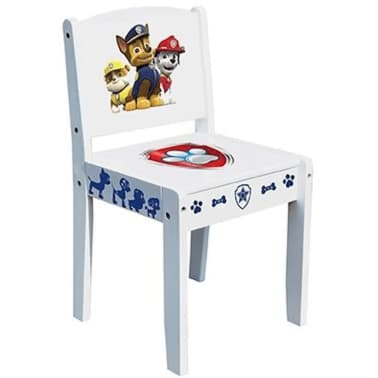 Kinderstoel Wit Hout.Paw Patrol Kinderstoel Wit 53x26x29 Cm Hout Room268050