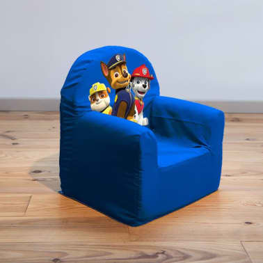 acheter paw patrol fauteuil pour enfants 41x37x29 cm bleu room268053 pas cher. Black Bedroom Furniture Sets. Home Design Ideas