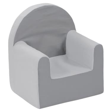 Room studio poltrona per bambini 37x29x41 cm grigio for Poltrona bambini