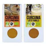 Aromandise Duo de Latte - curcuma gingembre & curcuma vanille