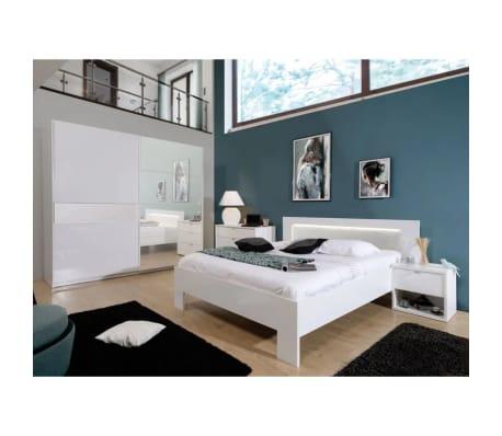 Acheter Chambre Adulte Complète 140190 Laqué Blanc Senya Pas