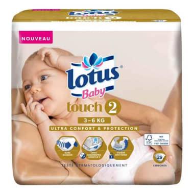 Lotus Couches Baby Touch 2 (3-6Kg) X29 (lot de 2)[1/1]