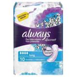 Always Discreet Serviettes Pour Fuites Urinaires Long x10 (lot de 3)
