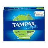 TAMPAX Compak Tampon Super Protective Skirt x22 (lot de 4)