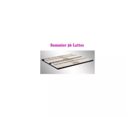 Sommier à lattes multiplis Résistant fermeté réglable 180X200 cm[6/7]
