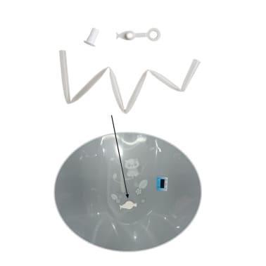 Baignoire bébé thermomètre Gris Owls 102 cm + Pieds + Tuyau[5/9]
