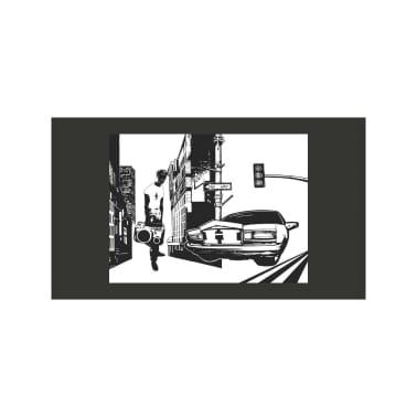 Papier Peint Style Urbain Dimension 300x231 Vidaxl Fr