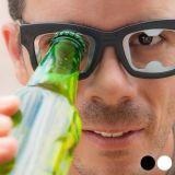 Paire de lunettes décapsuleurs - Ouvre bouteille Couleur - Blanc