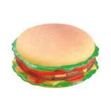 Jouet hamburger pour chien
