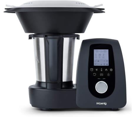 H.KOENIG - Robot de cocina multifunción, 1000W, 15 programas - Ref.HK8