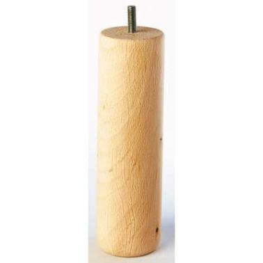 Pied de lit cylindrique en hêtre - 200 mm[2/2]