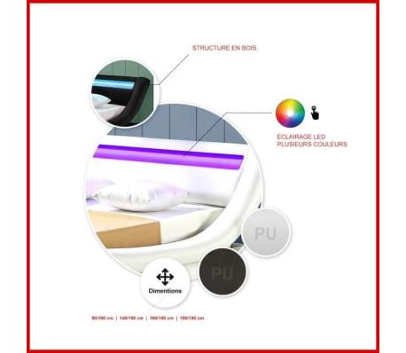 Lit design LED Julia - Noir - 180x200[4/5]