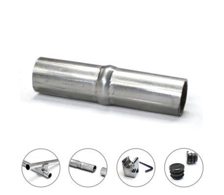 Manchon pour tube aluminium Creatube Ø30 mm naturel non anodisé[1/6]