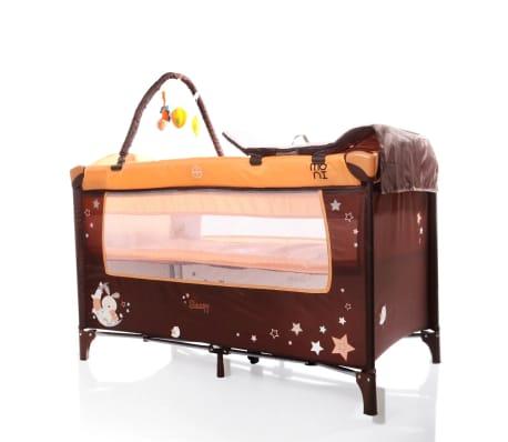 Lit parapluie bébé/ Lit pliant/ Lit de voyage SLEEPY Orange