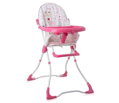 Chaise Haute pour bébé MARCEL Rose Lorelli[1/1]