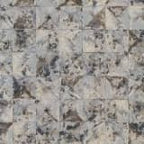 DUTCH WALLCOVERINGS Tapete Quadrat-/Dreiecks-Design Grau 42501-30