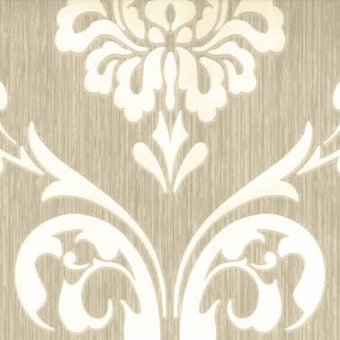 Dutch Wallcoverings Tapete Ornament Muster Braun Und Weiß 13110 30