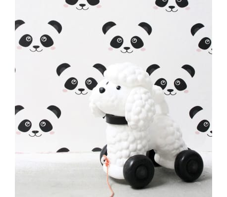 Details About Fabulous World Wallpaper Panda White Room Background Wall Cover Decor 67100