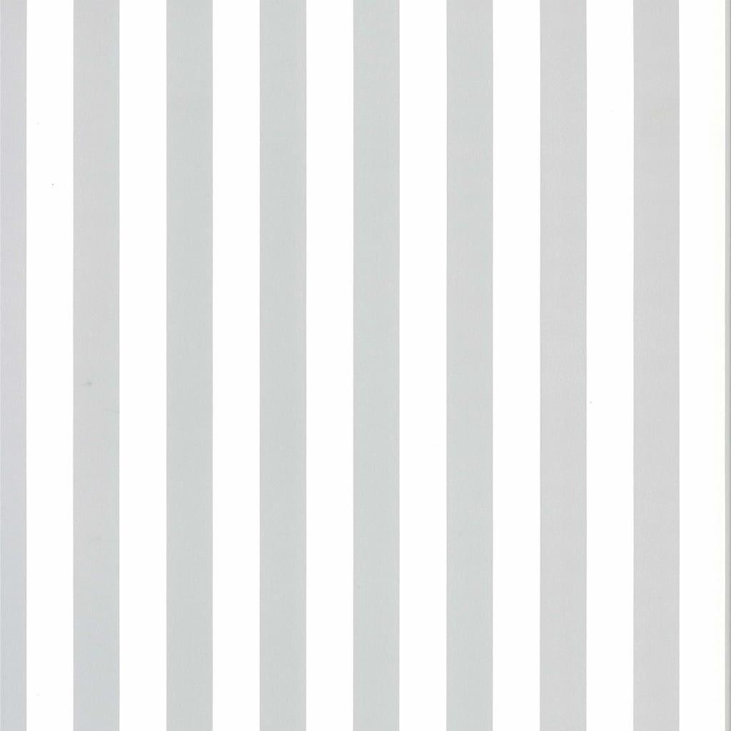 Fabulous World Tapet Stripes, alb și gri deschis, 67103-3 imagine vidaxl.ro