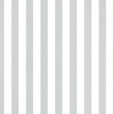 acheter fabulous world papier peint stripes blanc et gris. Black Bedroom Furniture Sets. Home Design Ideas