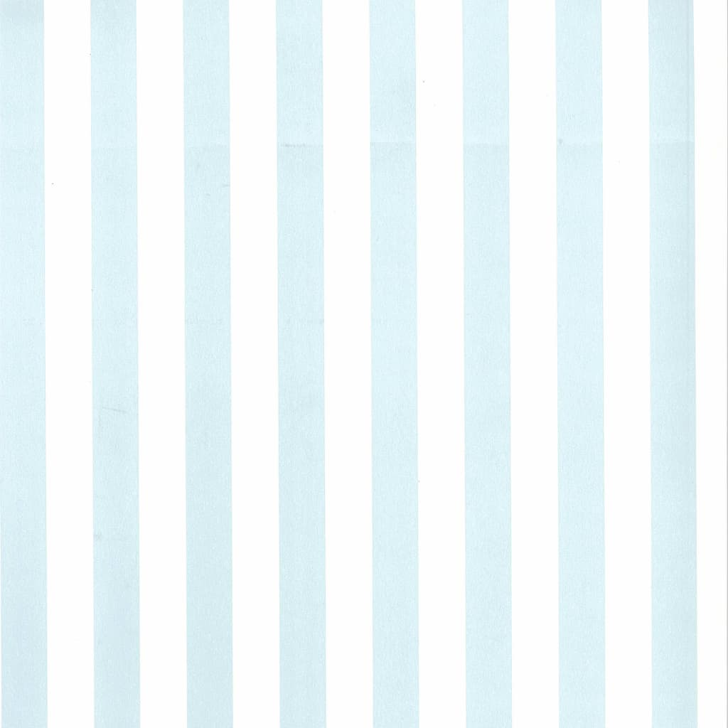 Fabulous World Tapet Stripes, alb și albastru deschis, 67103-5 vidaxl.ro